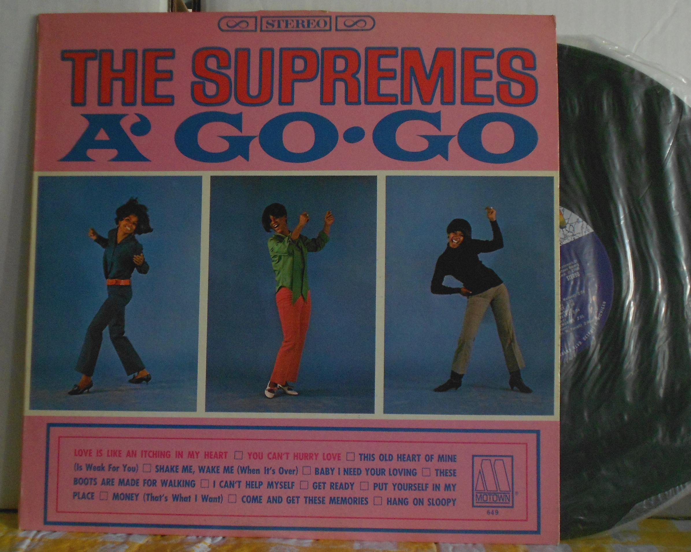 Supremes A Go Go Records Lps Vinyl And Cds Musicstack