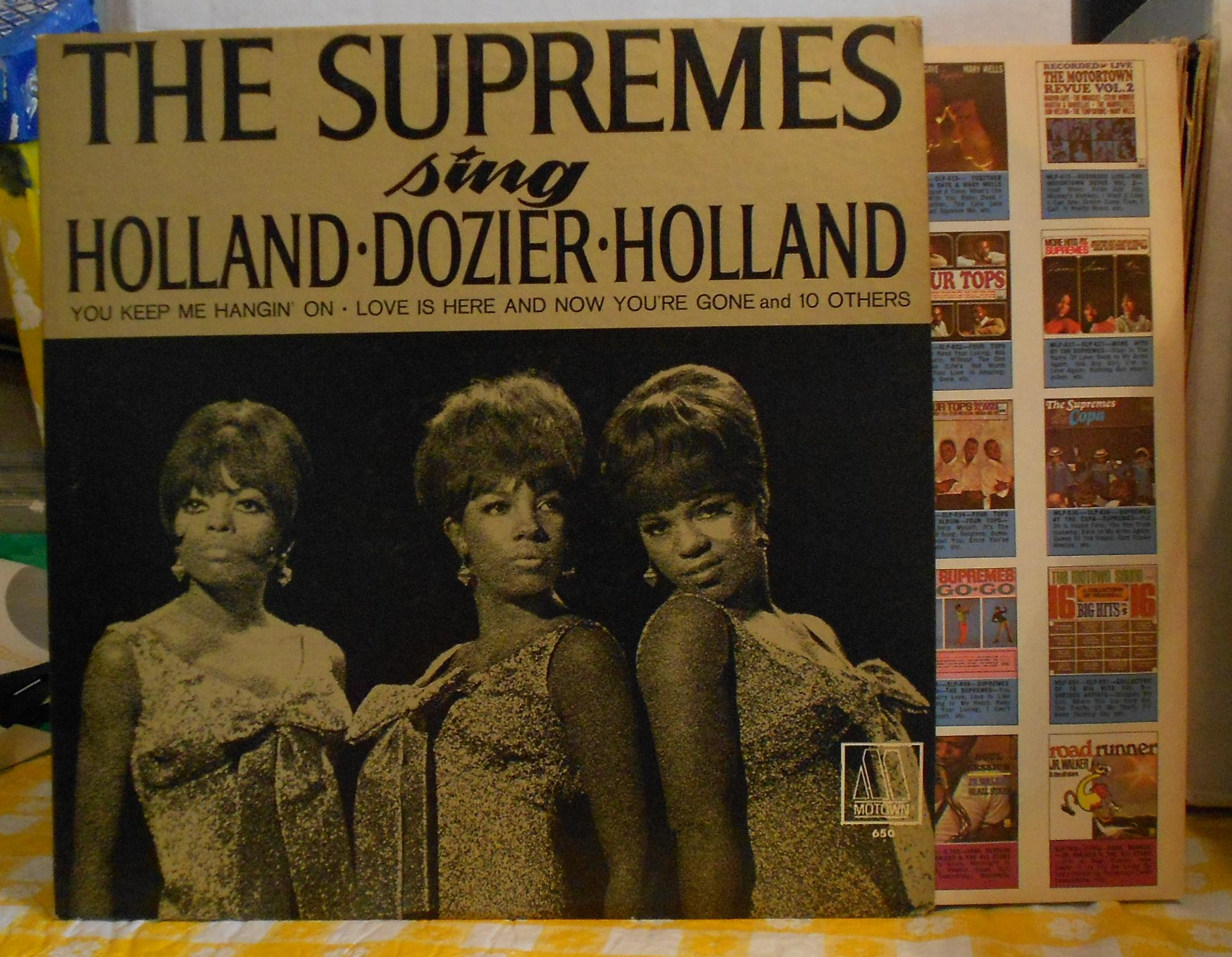 Supremes Sing Motown Records Lps Vinyl And Cds Musicstack
