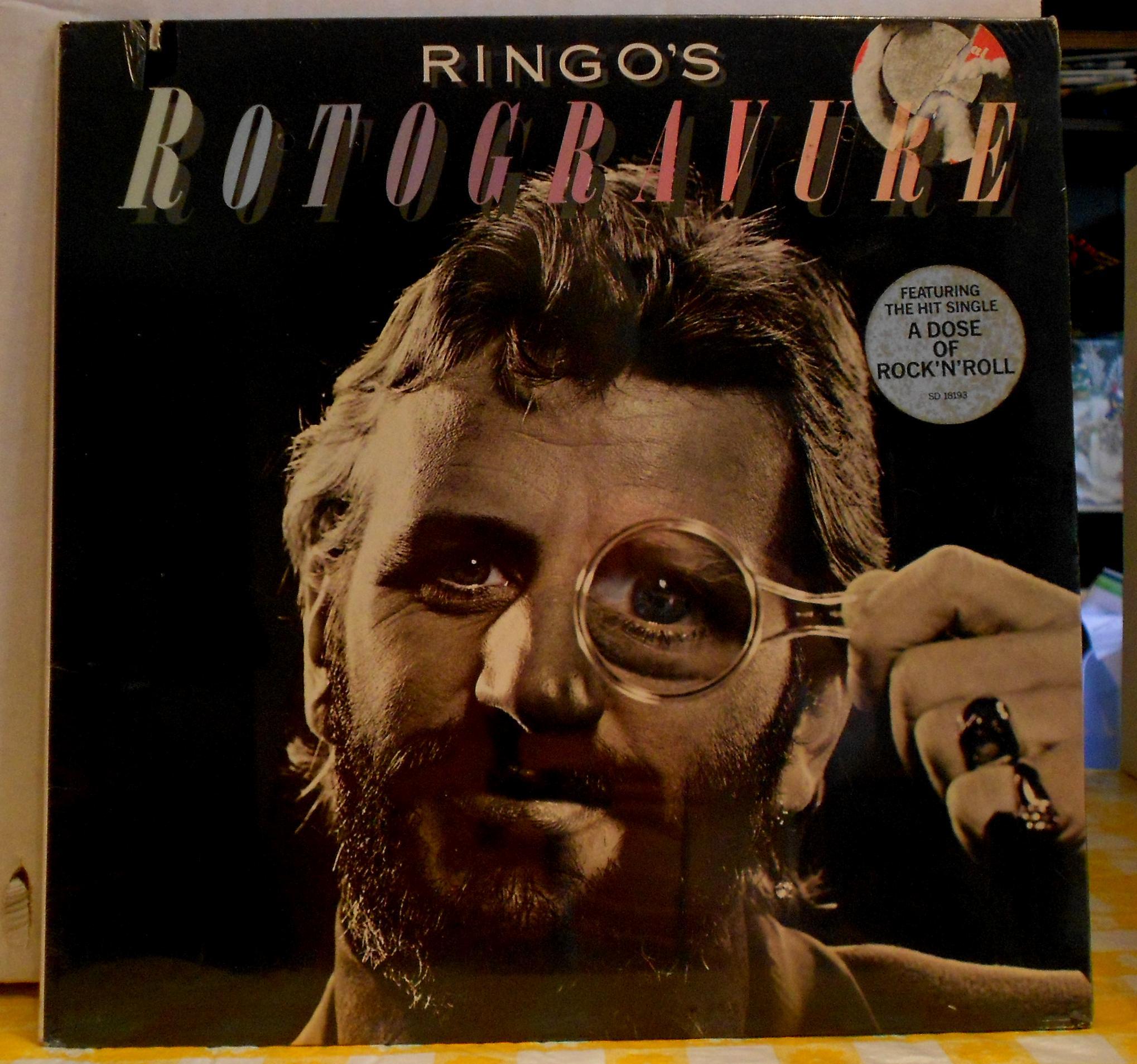 Ringo Starr - Rotogravure Album