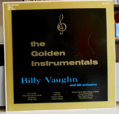 Billy Vaughn - The Golden Instrumentals Lp