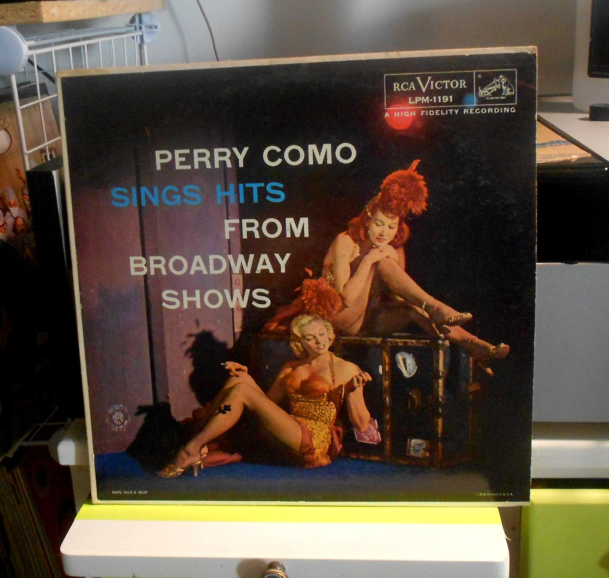 Perry Como - Sings Hits From Broadway Shows Lp