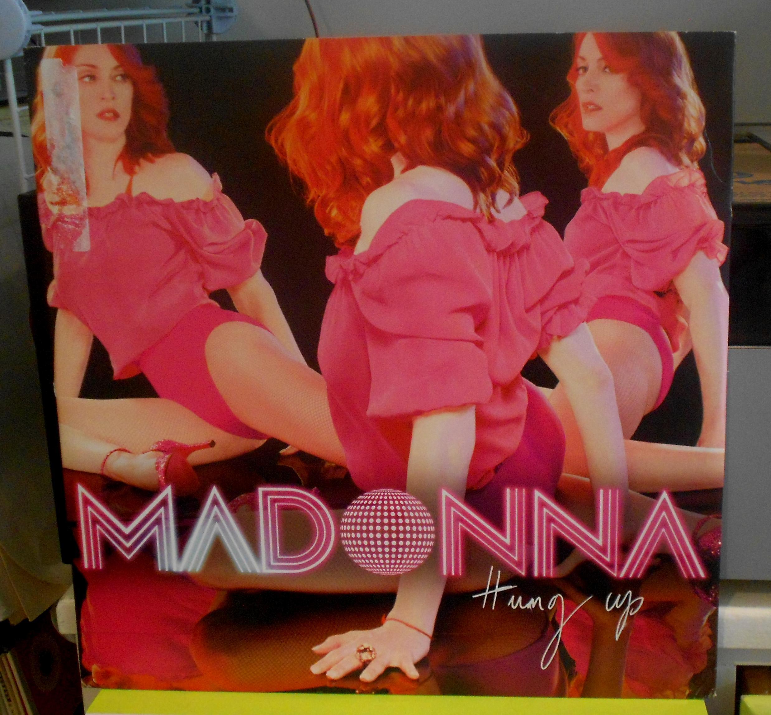 """MADONNA - Hung Up 12"""""""