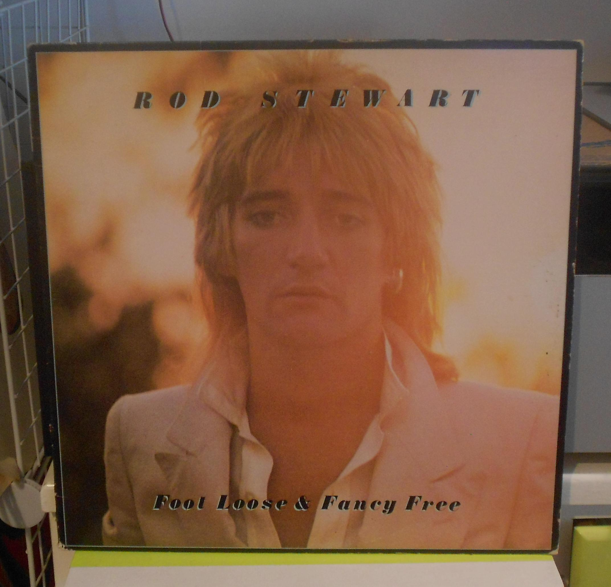 Rod Stewart - Foot Loose And Fancy Free Lp
