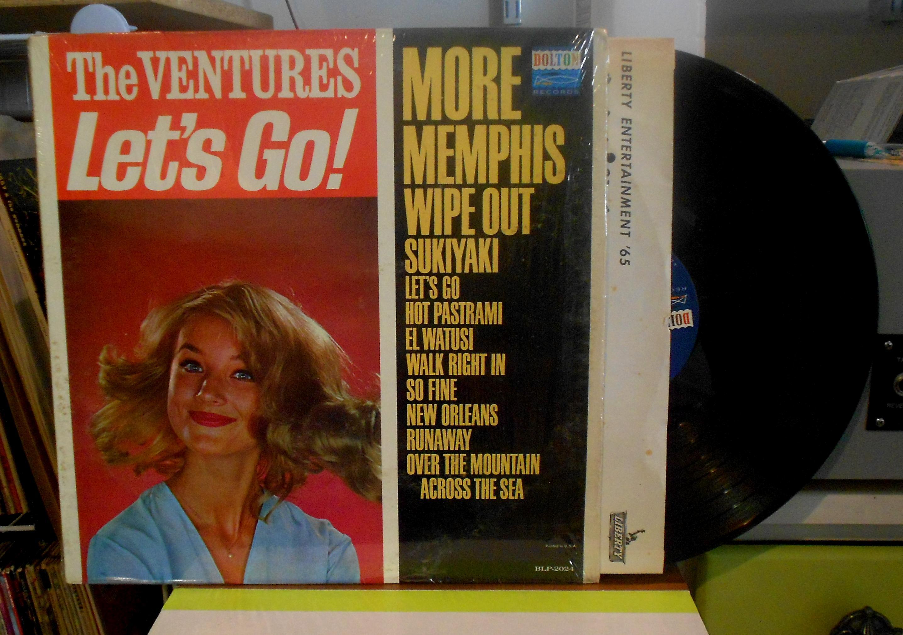 Ventures - Let's Go Lp
