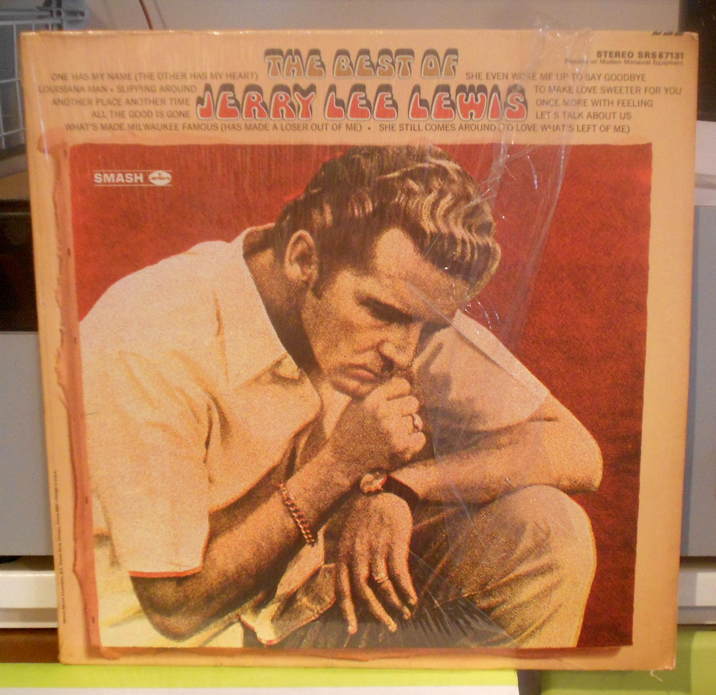 Jerry Lee Lewis - The Best Of..lp