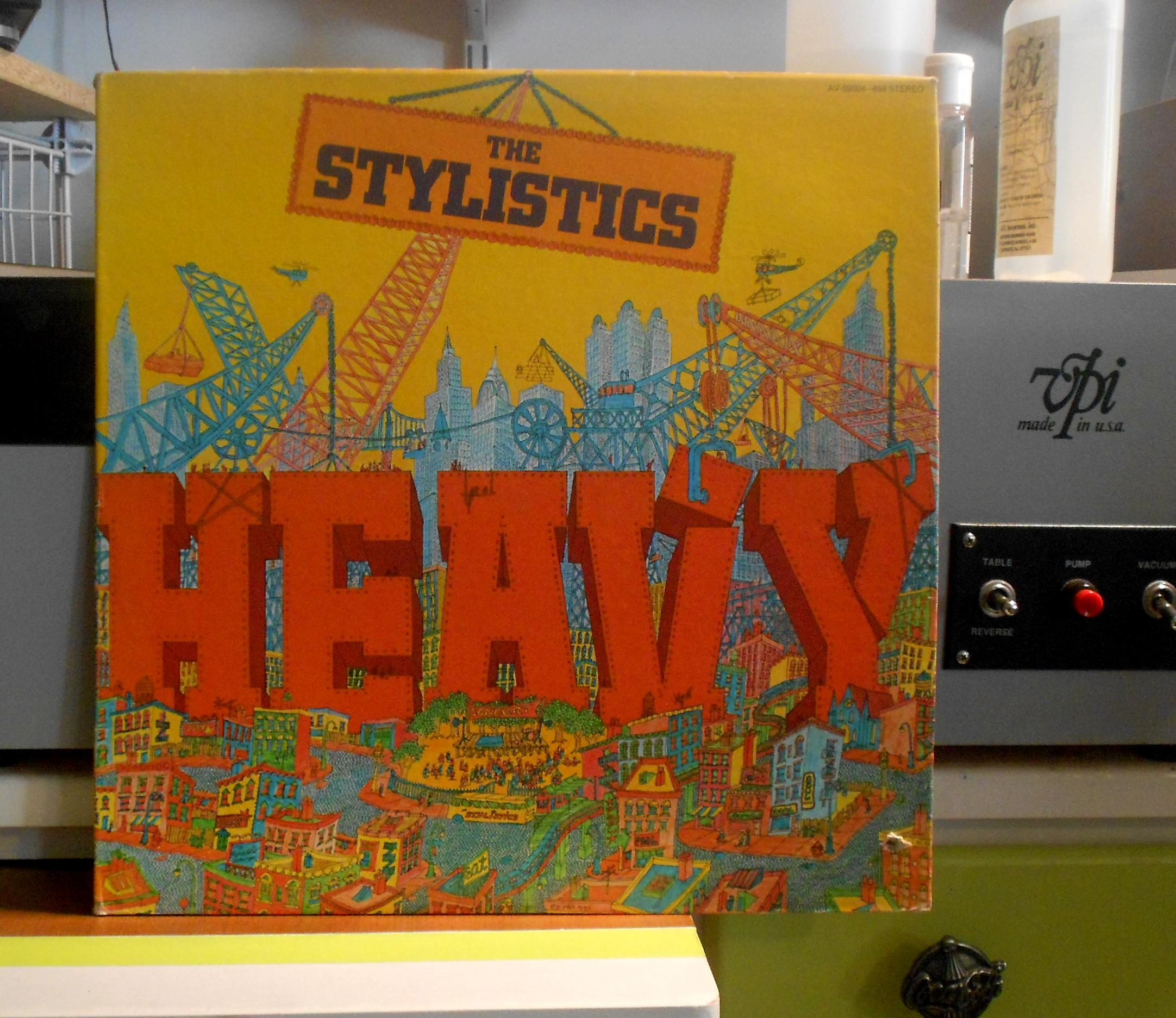 Stylistics Heavy Records Lps Vinyl And Cds Musicstack