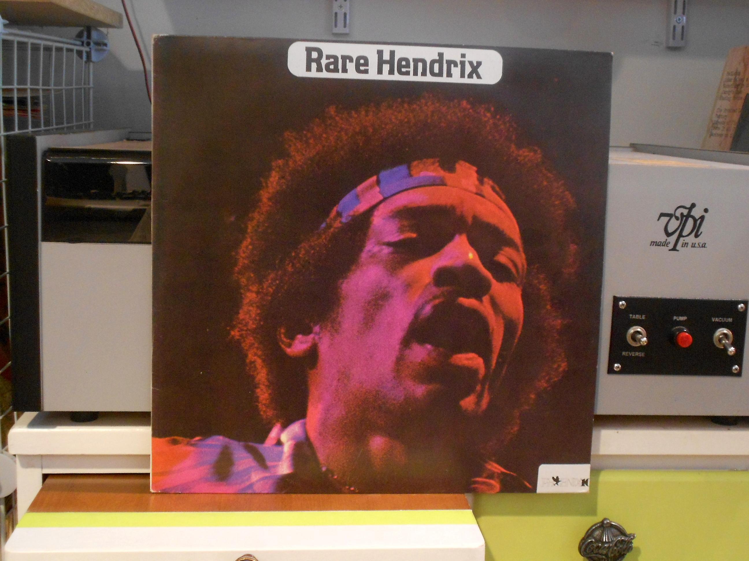 Rare Hendrix Lp - Jimi Hendrix