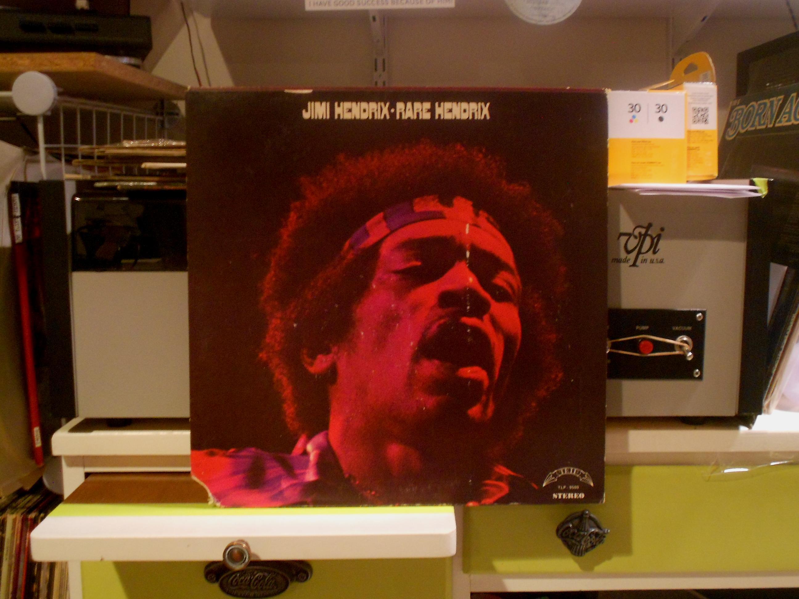 Jimi Hendrix - Rare Hendrix Lp