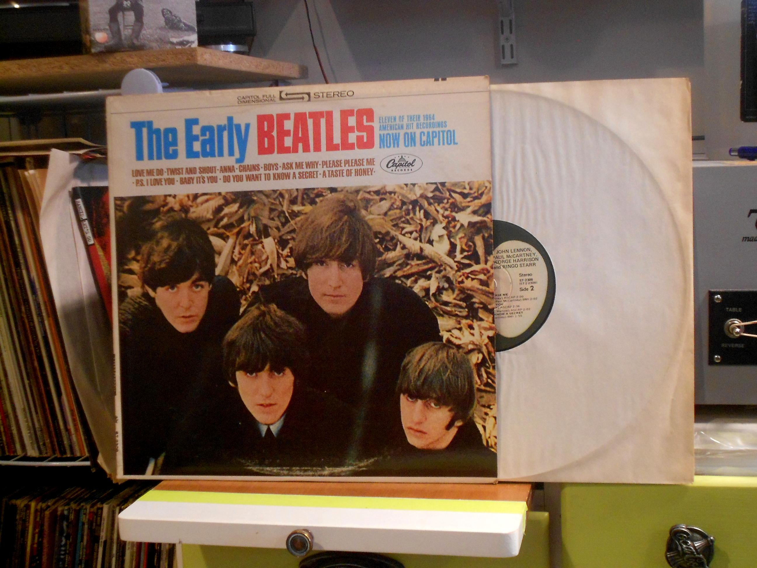 Beatles - Early Beatles Lp